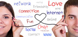 modern communication, online love