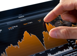 Analyzing Stock Market Chart
