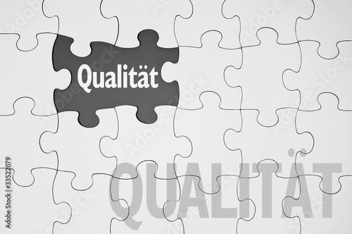 Puzzle mit Qualität
