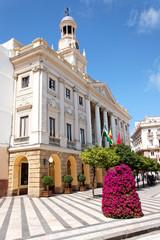 Rathaus von Cádiz, Spanien
