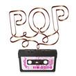 Audiokassette, Musikkassette, Kassette, Silhouette, POP