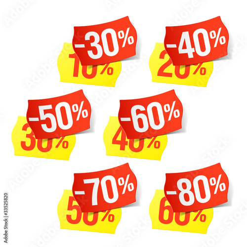 Now even more discounts - price tags