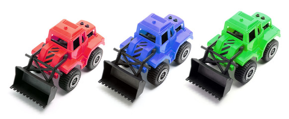 Toy Earth Movers