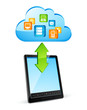 Cloud computing Applications tablette tactile smartphone