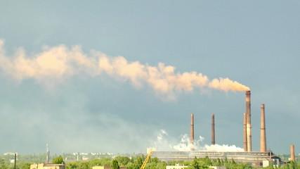 industrial landscape time lapse