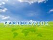 partnership word buttons