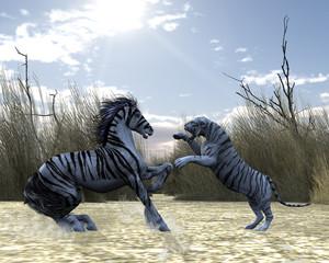 White Tiger Horse
