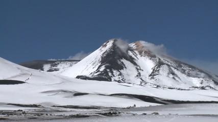 etna et touristes