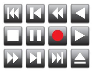 remote control black button