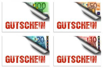 Gutschein Set - Euronoten