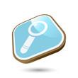 suche lupe icon suchen