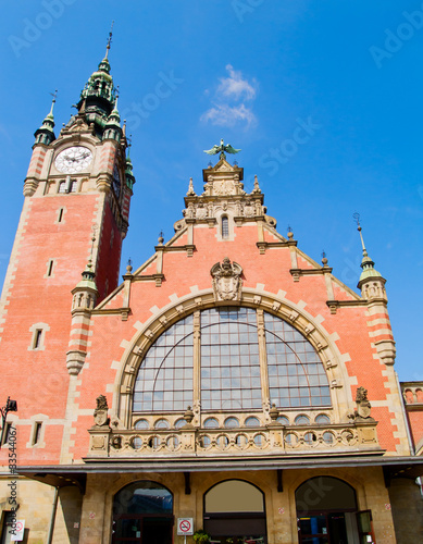 central railway station, Gdansk
