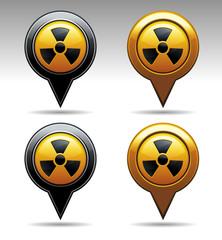 NUCLEAR PIN MARKER