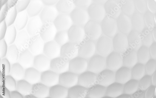 canvas print picture Close up of a golf ball