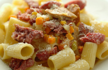 Mezze maniche pasta