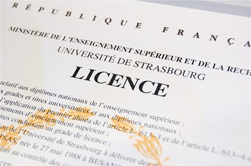 Diplôme de Licence