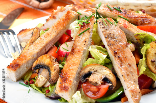 Fototapeten,salate,grillfest,salate,grillen