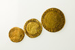 Assemblage of gold coins of Britain's King James I