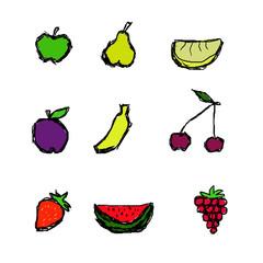 символы фруктов