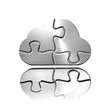 Cloud Computing sous forme de puzzle