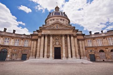 Institut de France, quai de Conti, Paris - France