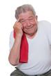 Senior möchte sich sportlich betätigen