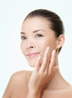 Skin care beauty woman