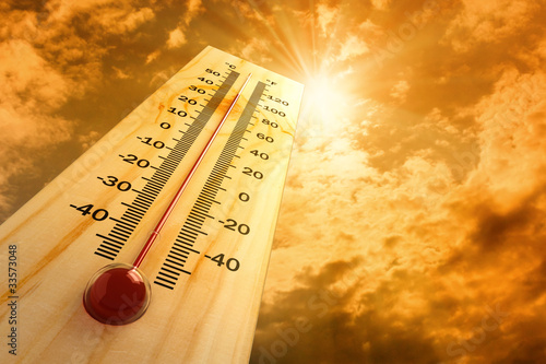 thermometer in the sky, the heat - 33573048