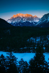 Mt. Zugspitze - The Highest Mountain In Germany