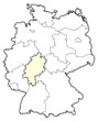 Detaily fotografie Německo Mapa, Hesse zdůraznil