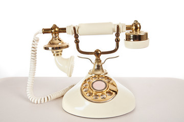 Ivory Retro Telephone