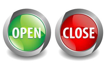 Open Close Button