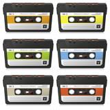 Musikkassette, 80er, achtziger, Audiokassette, Kassette, Audio
