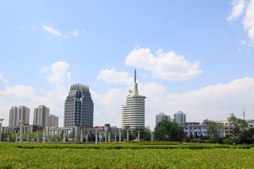beatiful city scenery