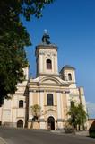 Parish church in Banska Stiavnica poster