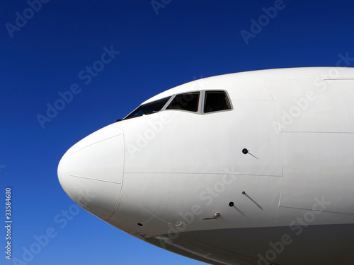 Flugzeugnase Cockpit Flugzeug