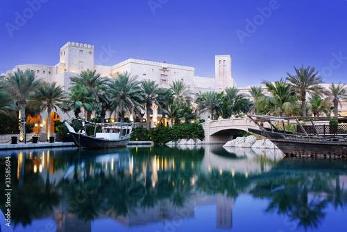 Fotobehang Dubai Madinat Jumeirah in Dubai