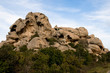Sardinia, Italy: granite rock formations