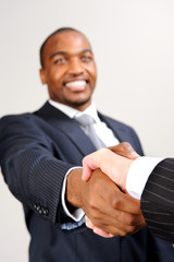 Business diversity handshake