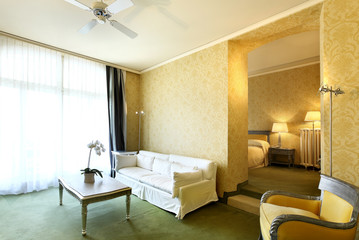 suite di albergo di lusso