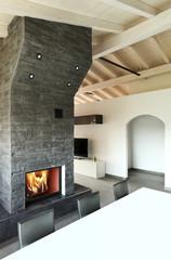 interno di casa moderna,