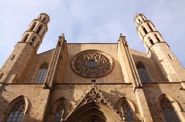 Santa Maria del Mar, Spanien, Barcelona