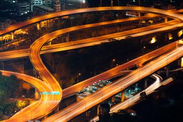 Autoroute échangeur Bangkok, Thaïlande