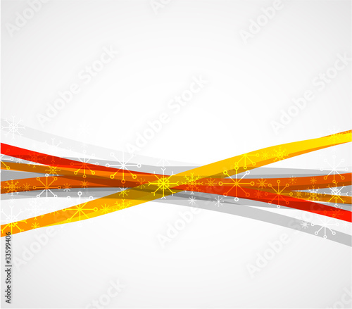 Christmas vector abstract background