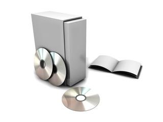 Packaging CD DVD
