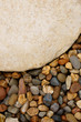 The Big Stone Plate Surrounded by Gravel Stones