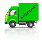 relocation truck poster