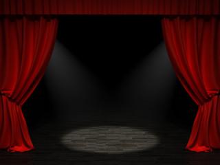 Scène de théâtre 1