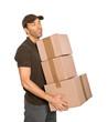 Paketdienst mit 3 Paketen