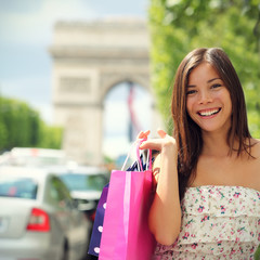 Paris Shopping Woman